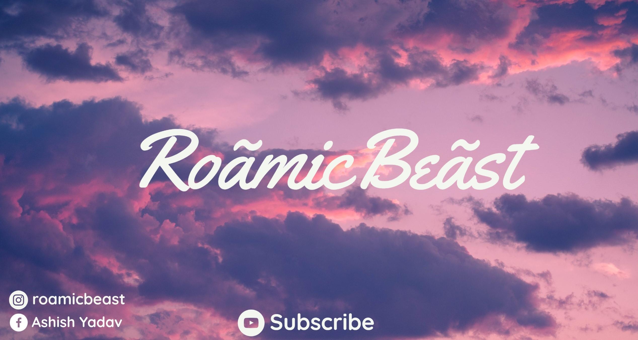 roamicbeast (@roamicbeast) Cover Image