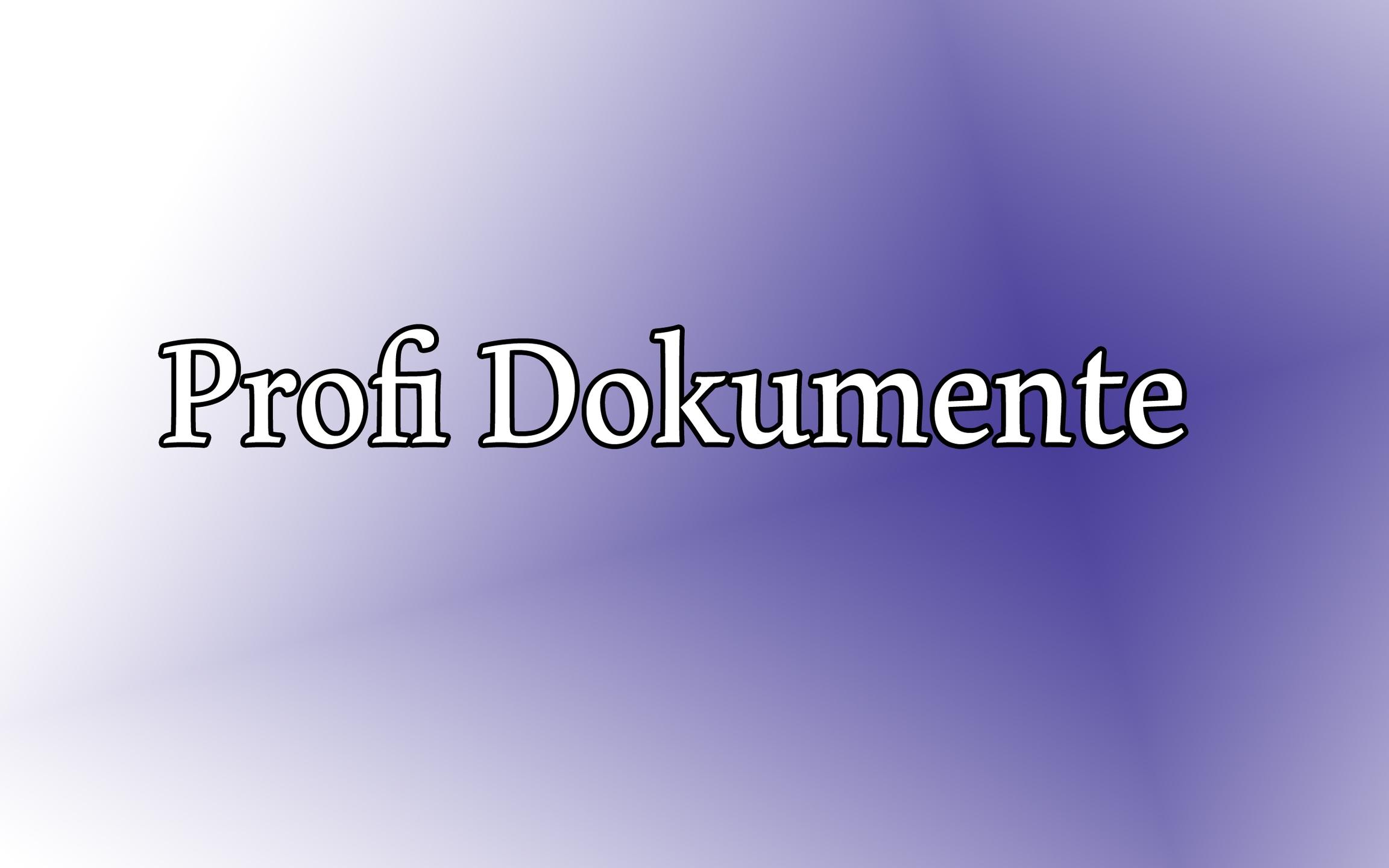 Profi Dokumente (@profidokumente) Cover Image