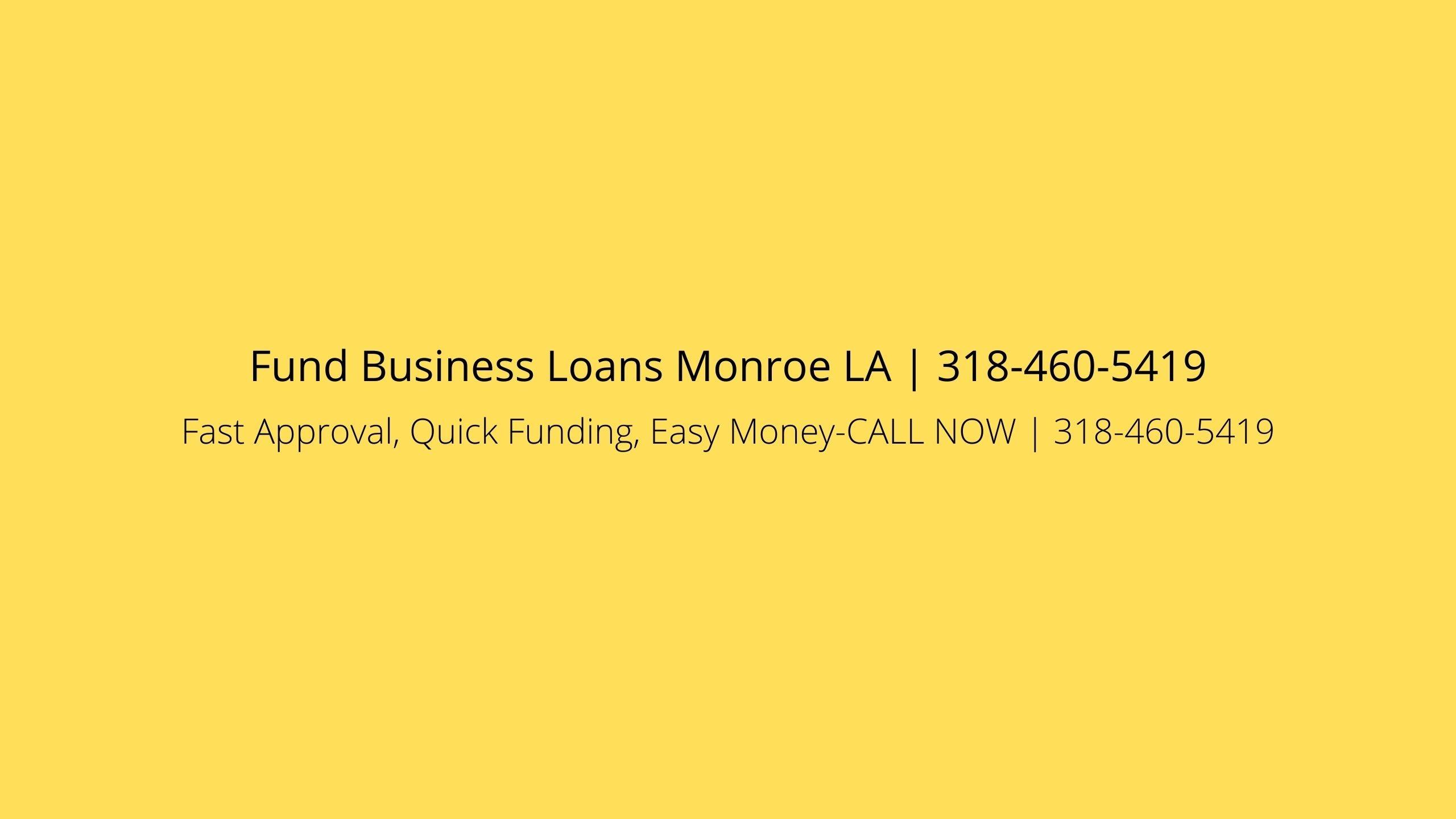 Monroe SBA (@monroesba) Cover Image