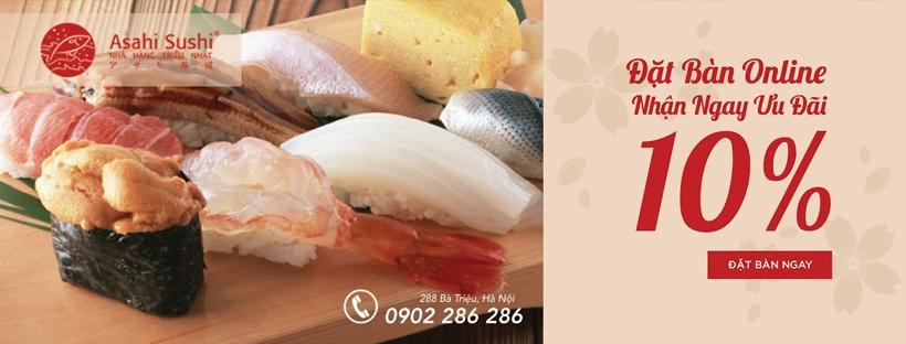 Asahi sushi (@asahisushi) Cover Image