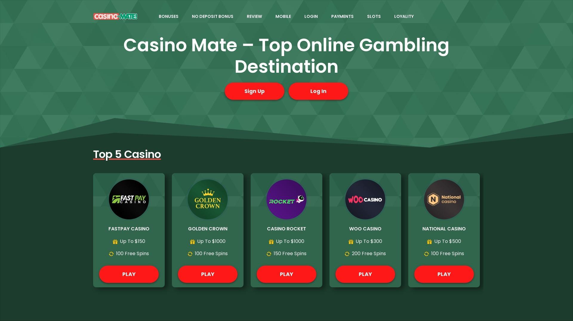 Casino Mate (@casinomate) Cover Image