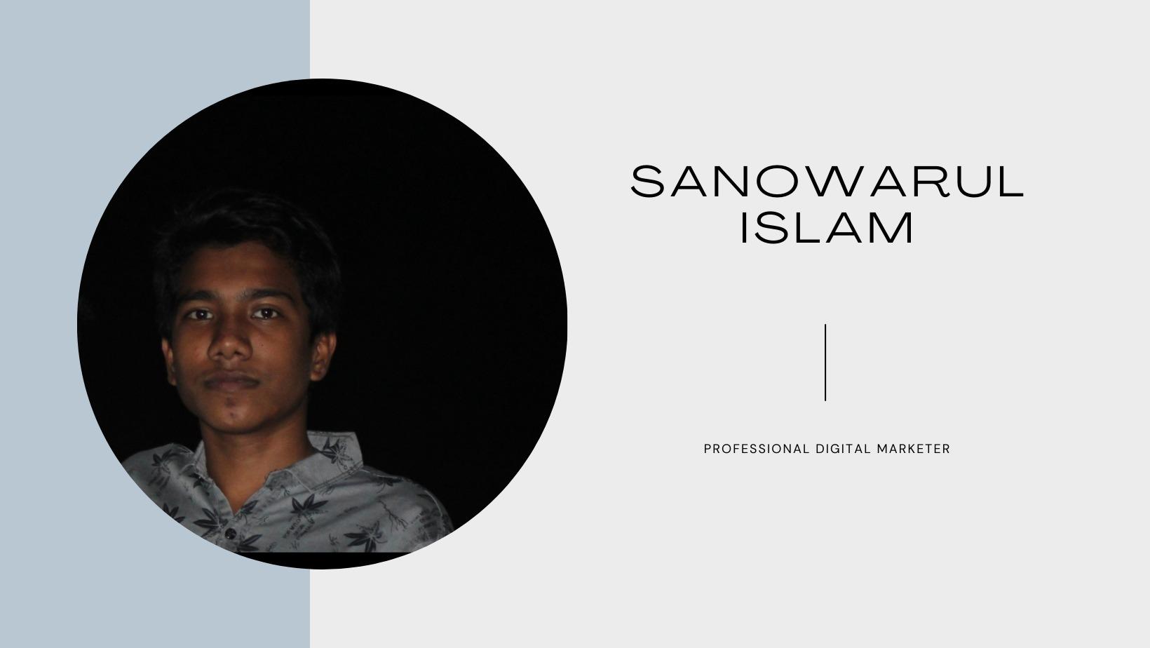 Sanowarul Islam (@sanowarul32) Cover Image