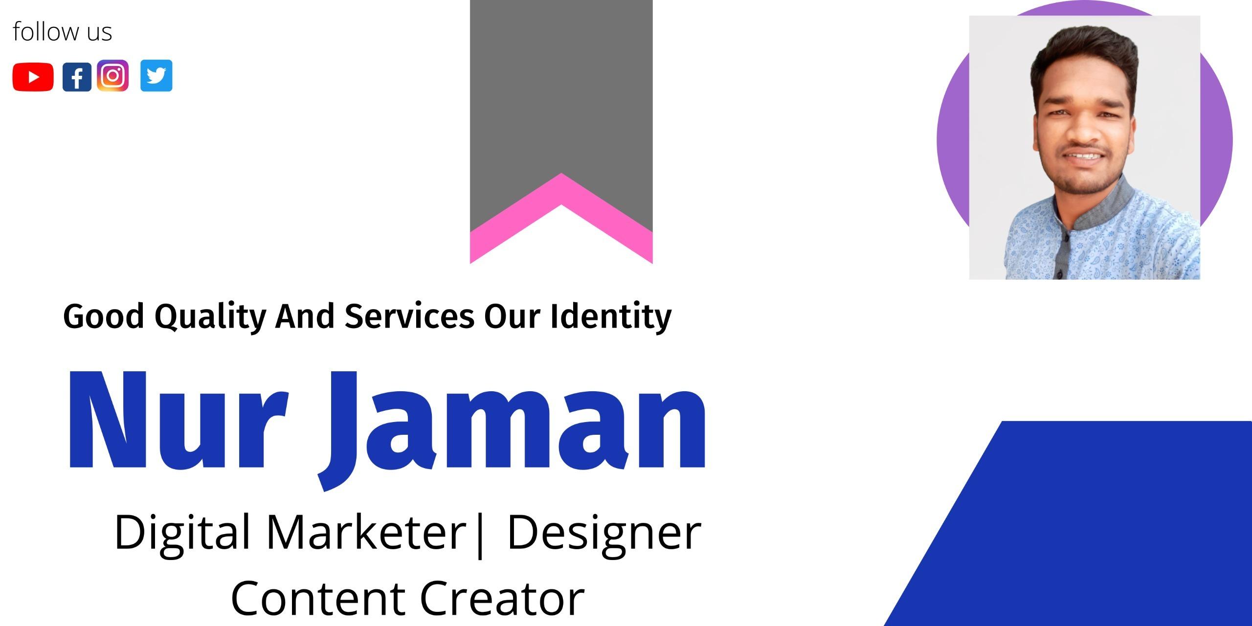 Nur Jaman (@nurjaman14) Cover Image