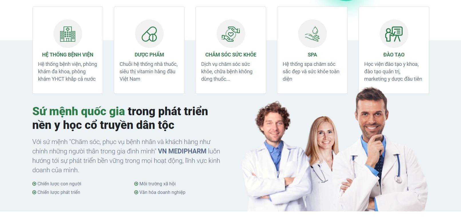 Tập đoàn Y dược Vn Medipharm (@vnmedipharm) Cover Image