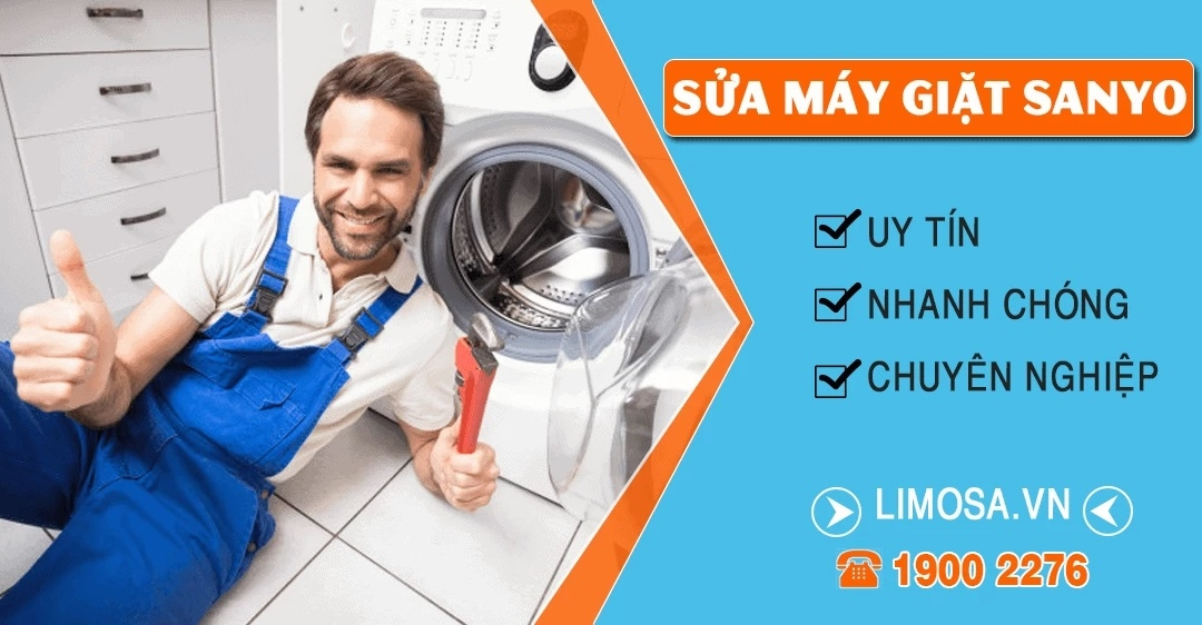 Sửa máy giặt Sanyo Limosa (@suamaygiatsanyolimosa) Cover Image
