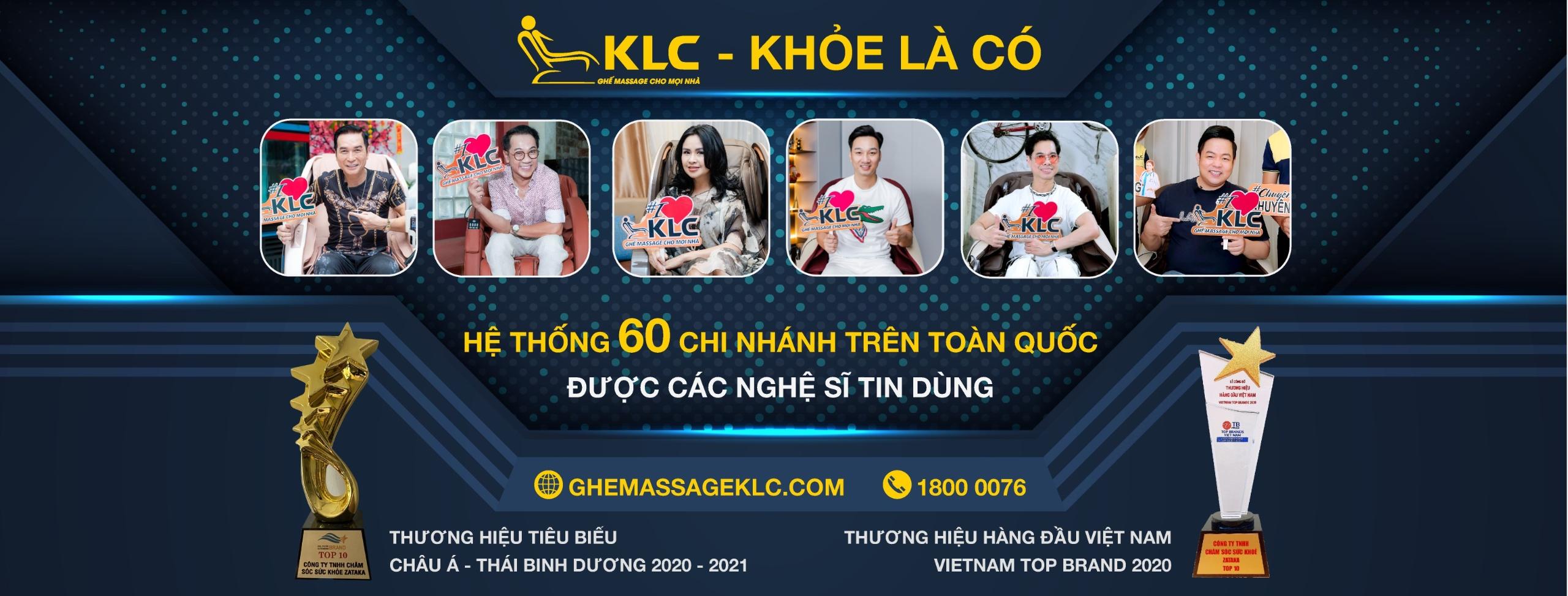 Ghế Massage Chính Hãng KLC (@ghemassageklc) Cover Image