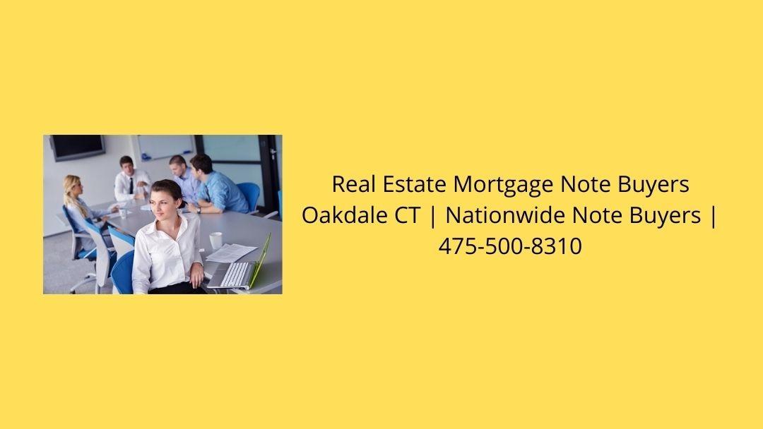 Real Estate Mortgage Note Buyers Oakdale CT (@oakaleanu) Cover Image